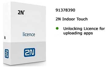 Unlock Licence indoor touch