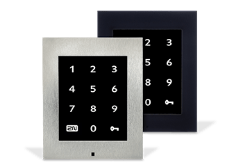access units touch keypad front